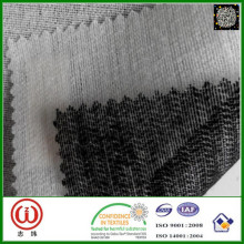 ropa de la materia prima tela echada a un lado doble de la tela acolchada