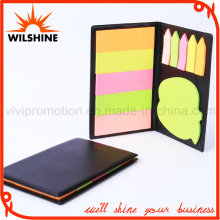 High Quality PU Cover Memo Sticky Note Pads (PN238)