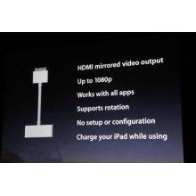 Brand HDMI to HDTV Digital AV Adapter for Apple New iPad 2 3 iPhone 4 4G4S