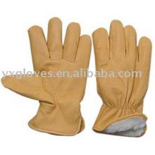 Зимняя перчатка-свиная кожаная перчатка-перчатка-рабочая перчатка