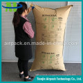 High Pressure Re-Usable Brown Paper Container Pillow Air Dunnage Bag