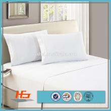 50% algodão 50% poliéster 180TC Hotel Travesseiro Caso cama tecido