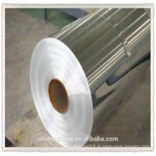 Folha de alumínio de 6,5 micron para alimentos