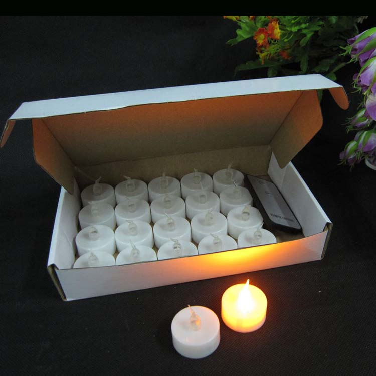 Flameless Led Tea Light Candles With Battery Powered Unscented Led Tealight Candles 15