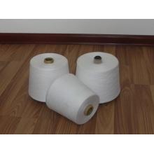 100% акриловая пряжа одинарная и двойная пряжа, белый или окрашенный