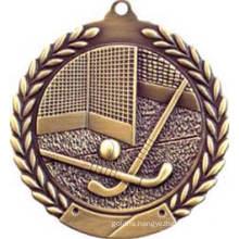 Good Quality Custom Award Souvenir Field Hockey Medal