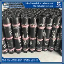 roof material 3mm SBS modified bituminous waterproof membrane