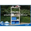 Office used Light Duty Rivet Shelving/ commercial shelving