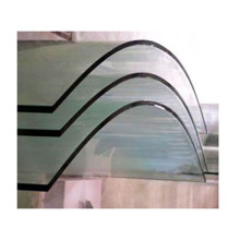 Safety Curved Toughened Bent Tempered laminated glass in building