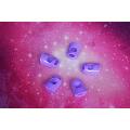 Protetor de dedo de Ukulele colorido