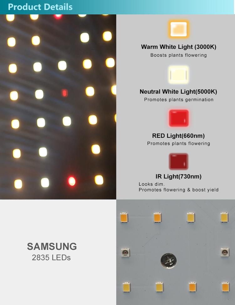 2.4G Wireless Dimming LED Grow Light 8