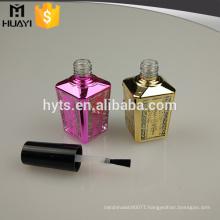 15ml large bottle UV glass nail gel polish bottle for cosmetic