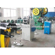 Deep draw forming line with die