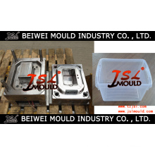Injection Plastic Food Box Mold Fabricante