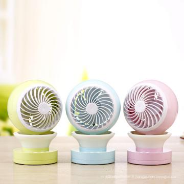 Mini ventilateur de poussette de bébé de batterie rechargeable