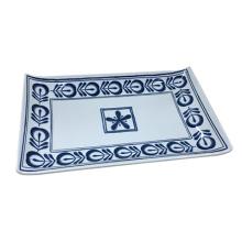 Melamine Modern Blue Tableware/Melamine Plate (4104)