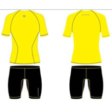 Stock Yellow Sublimated Short Sleeve Shirts
