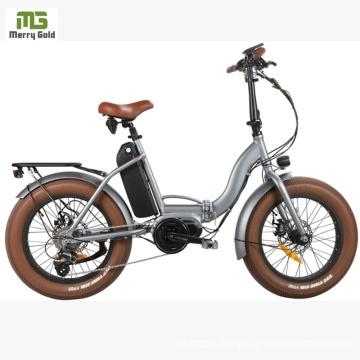 China Cheap Electric Folding Bicycles for Sale/ Mini Snow Folding Electric Bike
