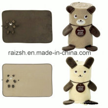 Regalos promocionales Cartoon Kneepad Fleece Blanket