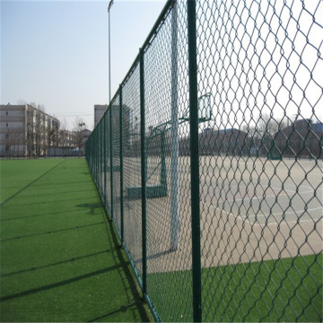 Pvc Dilapisi Chain Link Fence In Stock