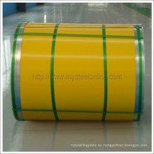 Alta bobina de acero recubierta de color anti-corrosión