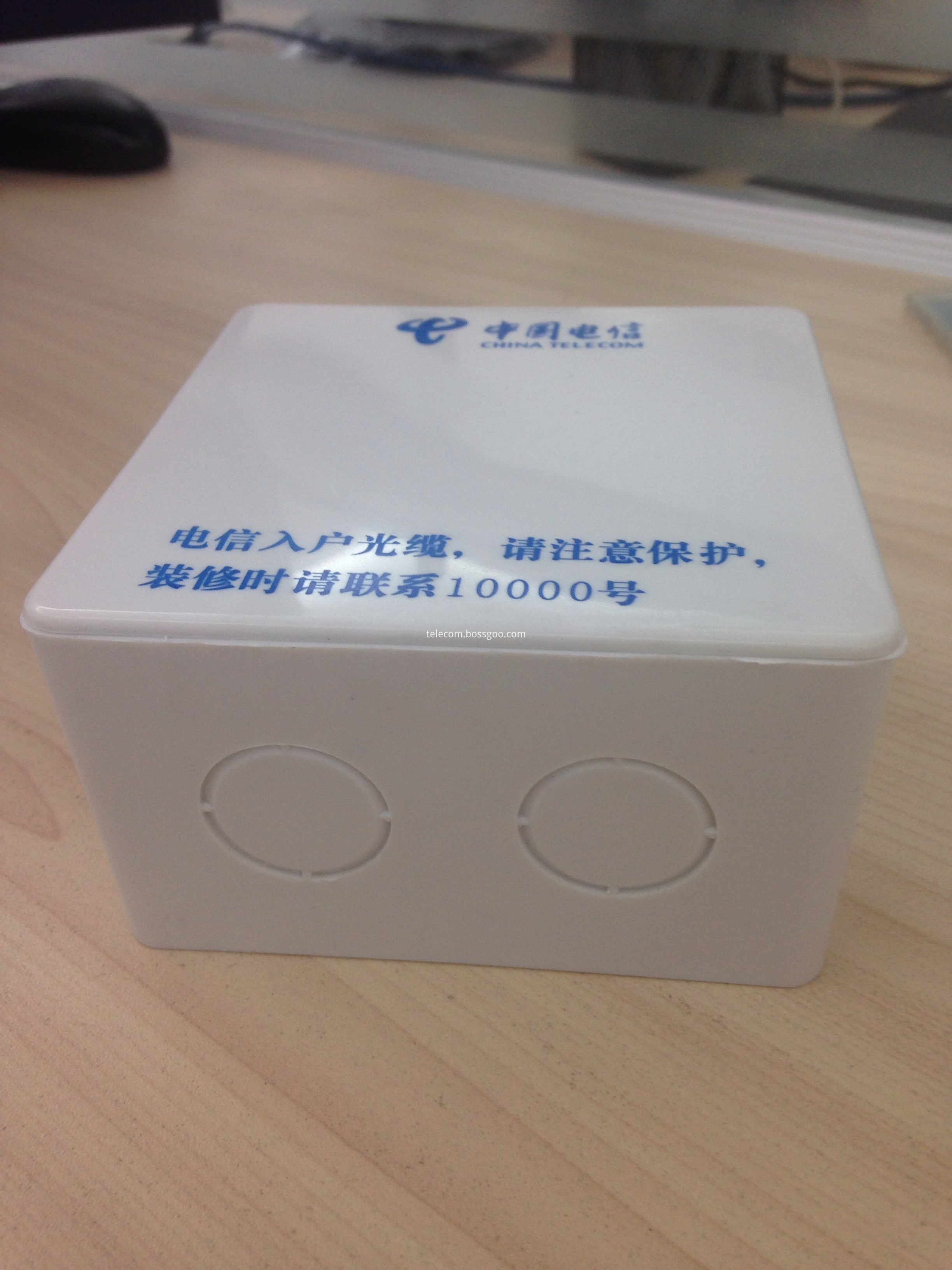 Fiber Optic Mounting Box SC and RJ45