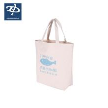Meilleure vente promotionnel sac de plage de coton réutilisable