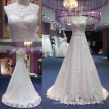 A Line Lace Applique Bridal Dress Wedding Gown Mat-115