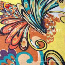 Woman Printed Twill Imitate Denim Fabric of 97%Cotton 3%Spandex (GLLML180)