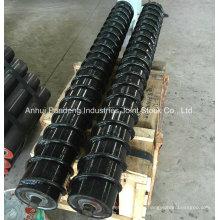 Rodillo espiral estándar ASTM / Cema / DIN / Sha / Rodillo de acero / Rodillo de retorno