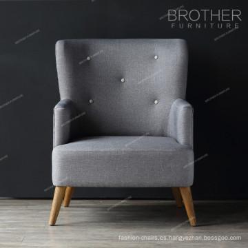 Muebles para el hogar sala de estar sillas de acento solo asiento con brazos