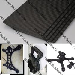 customized CNC cutting carbon fiber sheet