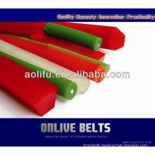 Green/Red Round Timing Belts