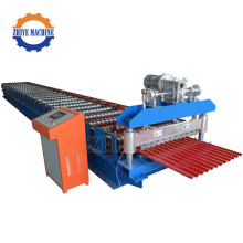Roofing Galvanized Aluminum Corrugated Sheet Roll Form Machine