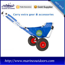 Factory made hot-sale for Beach Cart Wheels Aluminum cart, 420D Nylon Oxford Cloth trolley, Outdoor beach chair supply to Gibraltar Importers