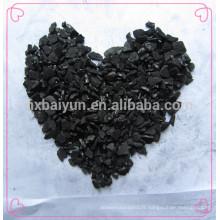 Filtre à charbon actif de coquille d'écrou granulaire pour la purification d'eau industrielle