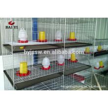 Garantía de Comercio Anping Baiyi Suministro de Fábrica Aves de Pollo Criador Jaula