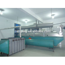 Vibration dryer for fiber