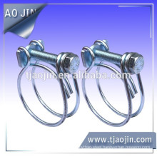double wire spring hose clamp