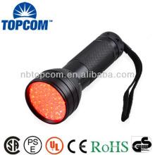 51 rote LED-Taschenlampe für die Jagd
