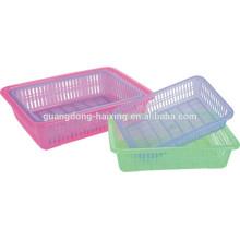 Plástico de cozinha peneira de venda quente / plástico do retângulo da peneira