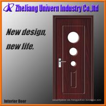 Puertas simples de madera delanteras