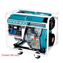 Bn5800dce / E offener Rahmen luftgekühlter Dieselgenerator 5kw 186f