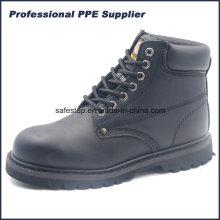 High Cut Bonne qualité Goodyear Welt Chaussures de sécurité