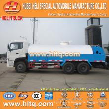 DONGFENG 6x4 16000L véhicule de rinçage haute pression 210hp moteur cummins