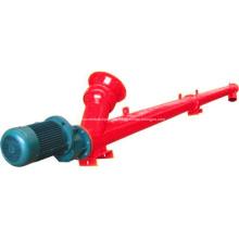 Transportador de tornillo flexible industrial del cemento espiral de Augar del tubo