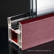 Profils en PVC uPVC pour fenêtre