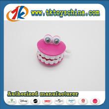 PS Plastic Wind up Zähne Spielzeug für Kinder