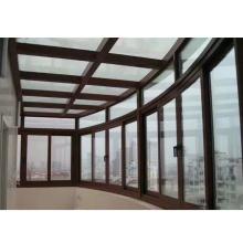 Standard modern aluminum frame sunroom glass houses