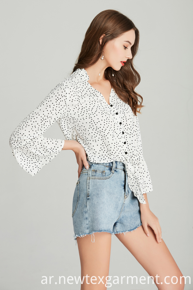 LADIES PRINTED BLOUSE